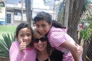 Ellen with Michelle and Vivian